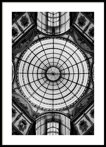 Glass Dome Poster in the group Posters & Prints / Black & white at Desenio AB (3291)