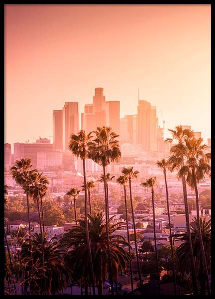 LA Sunset Poster in the group Posters & Prints / Nature at Desenio AB (3300)