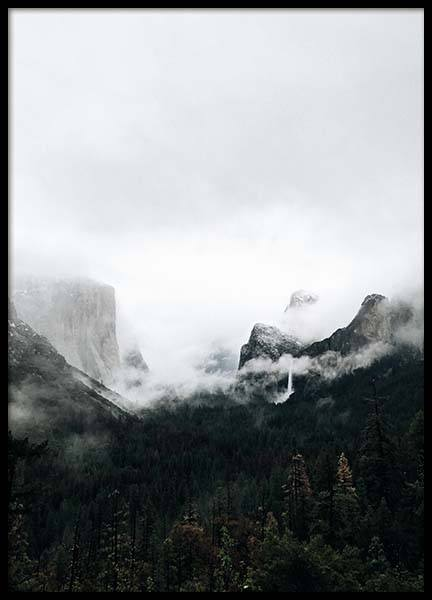 Yosemite Valley Poster in the group Posters & Prints / Nature at Desenio AB (3308)