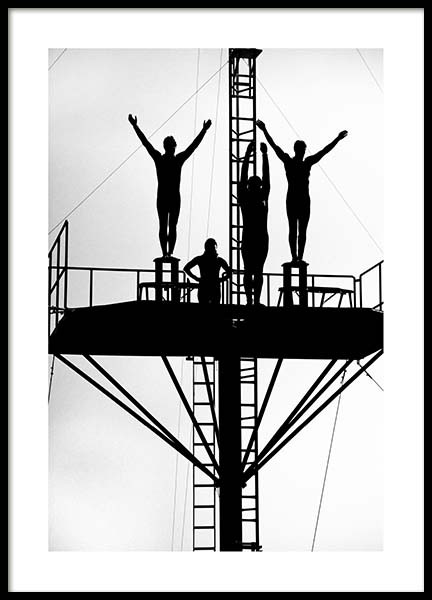 Divers Poster in the group Posters & Prints / Black & white at Desenio AB (3321)