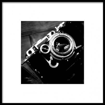Camera Poster in the group Posters & Prints / Black & white at Desenio AB (3324)
