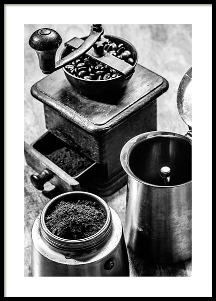 Moka Espresso Poster in the group Posters & Prints / Photography at Desenio AB (3331)