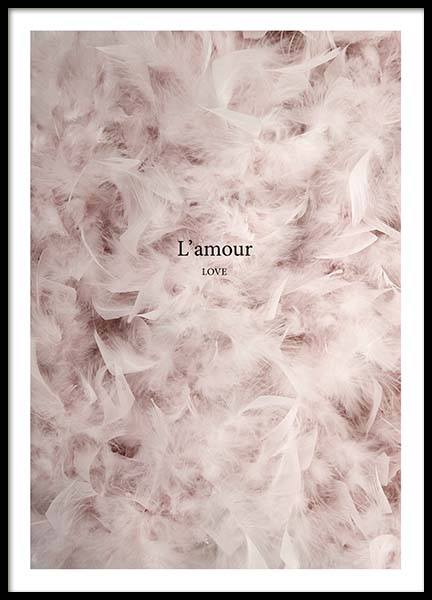 L'Amour Poster in the group Posters & Prints / Photography at Desenio AB (3389)