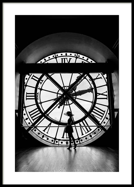 What's The Time? Poster in the group Posters & Prints / Sizes / 50x70cm | 20x28 at Desenio AB (3434)