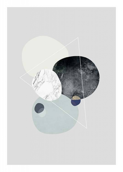 Graphic Planets 1 (50x70) in the group Posters & Prints / Sizes / 50x70cm | 20x28 at Desenio AB (3442-8)