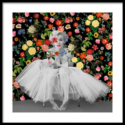 Marilyn Ballerina Poster in the group Posters & Prints / Art prints at Desenio AB (3459)