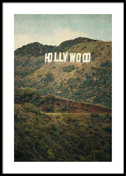 Hollywood Poster in the group Posters & Prints / Photography at Desenio AB (3468)