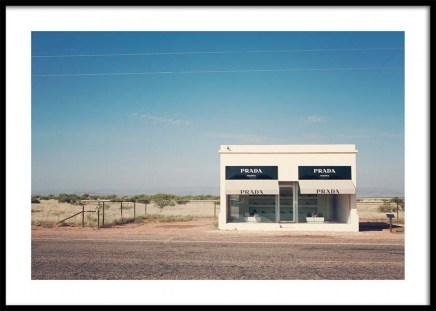 Prada Marfa Poster in the group Posters & Prints / Photography at Desenio AB (3470)