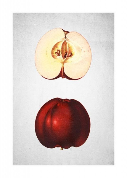 Red Apple Poster in the group Posters & Prints / Kitchen at Desenio AB (3508)