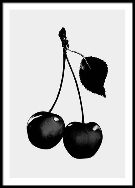 Black Cherry Poster
