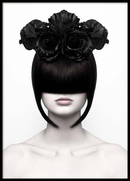 Black Roses Poster in the group Posters & Prints / Photography at Desenio AB (3718)
