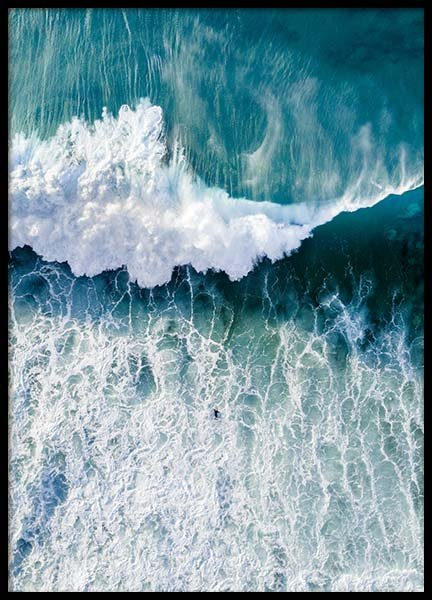 Surfers Wave Poster in the group Posters & Prints / Nature at Desenio AB (3827)