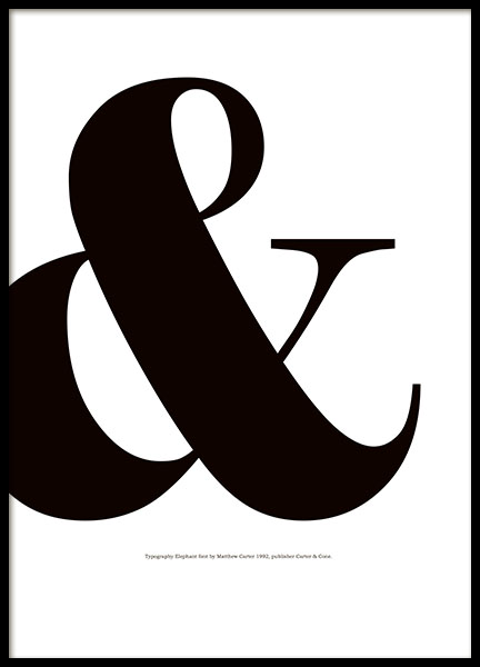 Stylish graphic posters and black and white letter prints