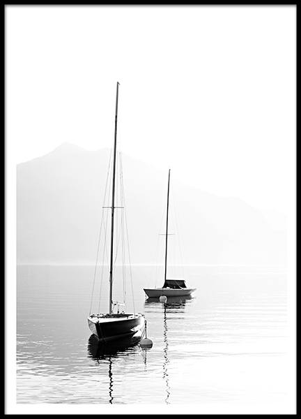 Posters and prints with photographs. Marine design