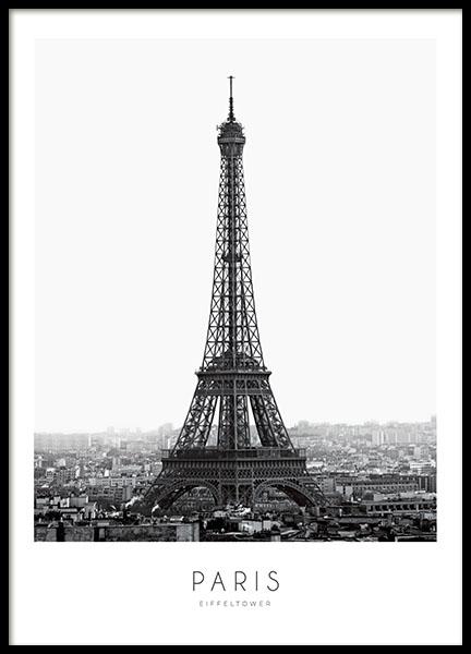 Eiffel Tower, Poster
