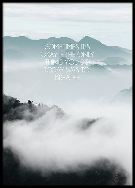 Only Breathe, Poster