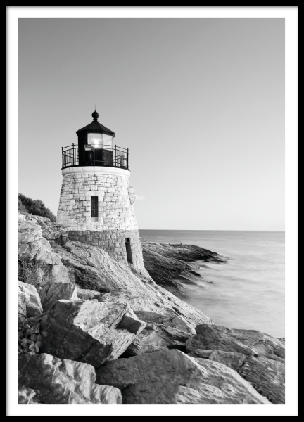 Posters and prints with black and white photos and photo art online