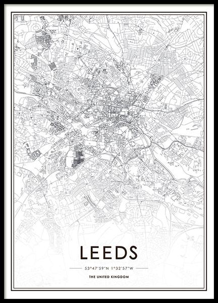 Leeds, Poster