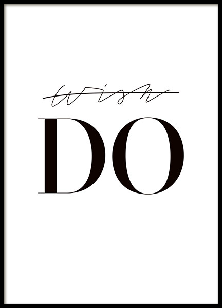 DO, poster in the group Posters & Prints / Sizes / 50x70cm | 20x28