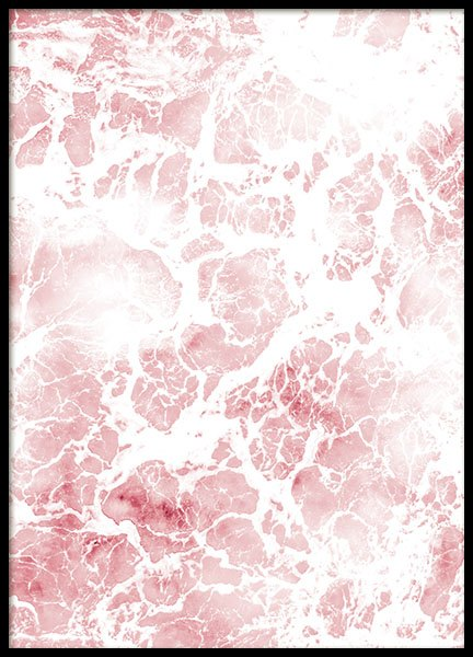 Pink Sea Foam, Poster in the group Posters & Prints / Photography at Desenio AB (8485)