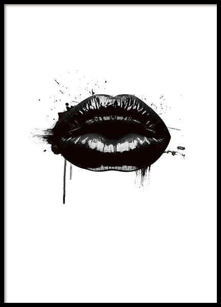 Fashion Lips, Poster in the group Posters & Prints / Graphical at Desenio AB (8490)