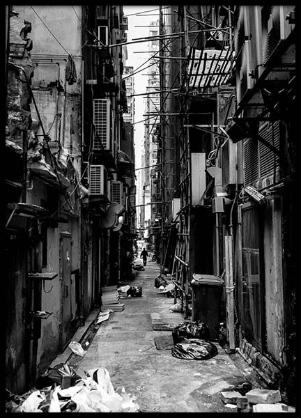 Hongkong Street, Poster in the group Posters & Prints / Photography at Desenio AB (8519)