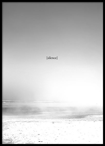 The Silence, Posters