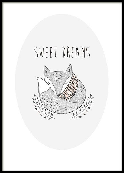Sweet Dreams, Posters in the group Posters & Prints / Kids posters at Desenio AB (8554)