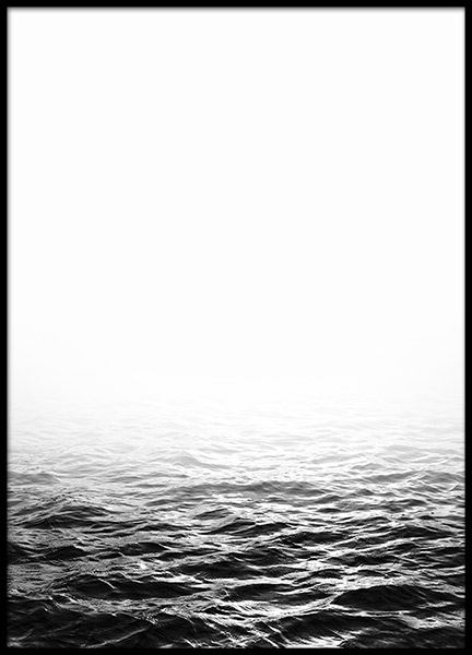 Ocean B&W, Posters in the group Posters & Prints / Black & white at Desenio AB (8581)