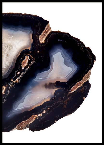 Dark Agate Two Poster in the group Posters & Prints / Photography at Desenio AB (8824)
