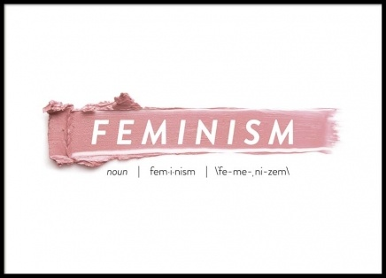 Feminism Poster in the group Posters & Prints / Fashion at Desenio AB (8837)