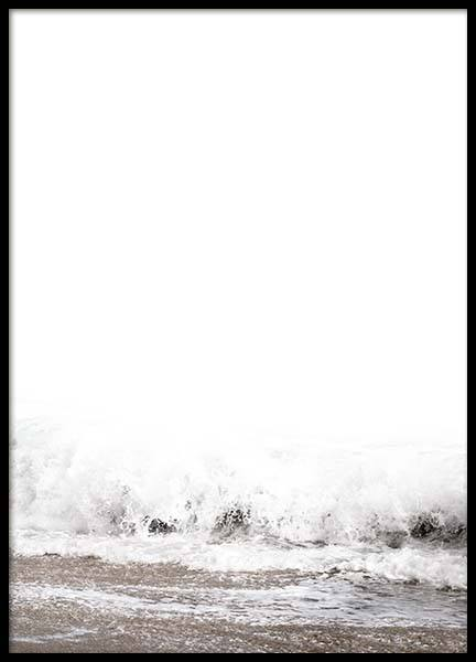 Beach Wave Poster in the group Posters & Prints / Nature at Desenio AB (8888)