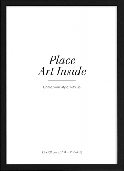 Black picture frame, 21x30 in the group Picture frames / Black frames at Desenio AB (AASP50101)