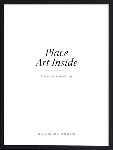 Black picture frame, 30x40 in the group Picture frames / Black frames at Desenio AB (AASP50102)