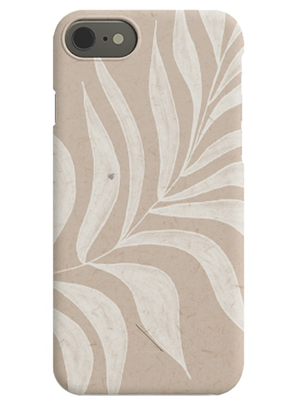 White Leaf iPhone Case