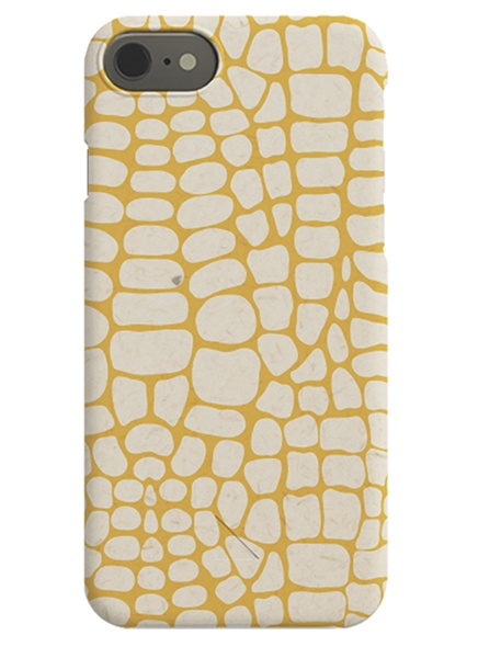 Hypnotic Yellow iPhone Case in the group iPhone Cases / iPhone X at Desenio AB (C-50154)