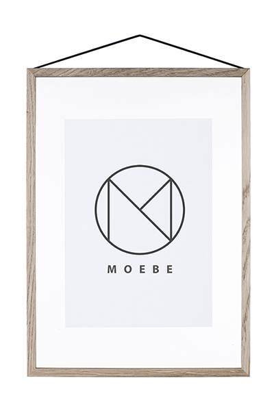 Moebe frame A3 oak in the group Picture frames / Moebe frames at Desenio AB (FOUA3BO)