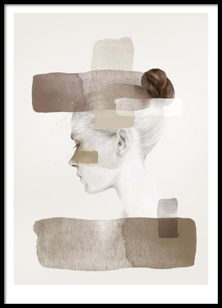 Anna Bülow InsideOut - Autumn Poster in the group Posters & Prints / Art prints at Desenio AB (Pre073)