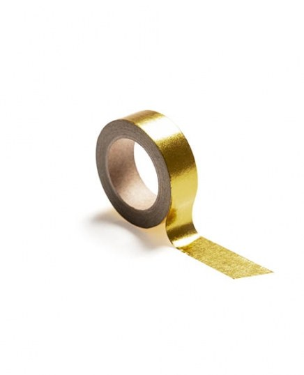 Washi tape, gold in the group Accessories / Washi tape at Desenio AB (TAPE100160)