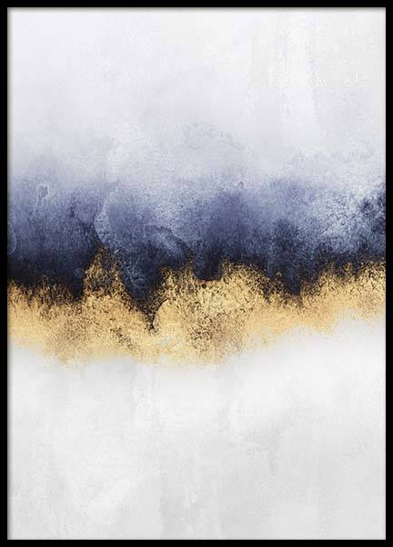 Golden Horizon 2 Poster in the group Posters & Prints / Handpicked / Elisabeth Fredriksson at Desenio AB (pre0036)