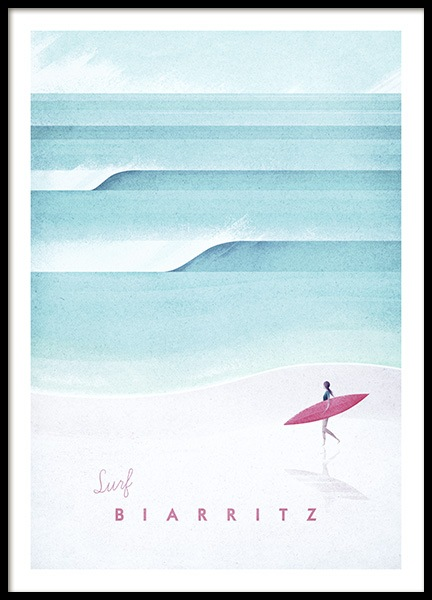 Biarritz Poster in the group Posters & Prints at Desenio AB (pre0037)