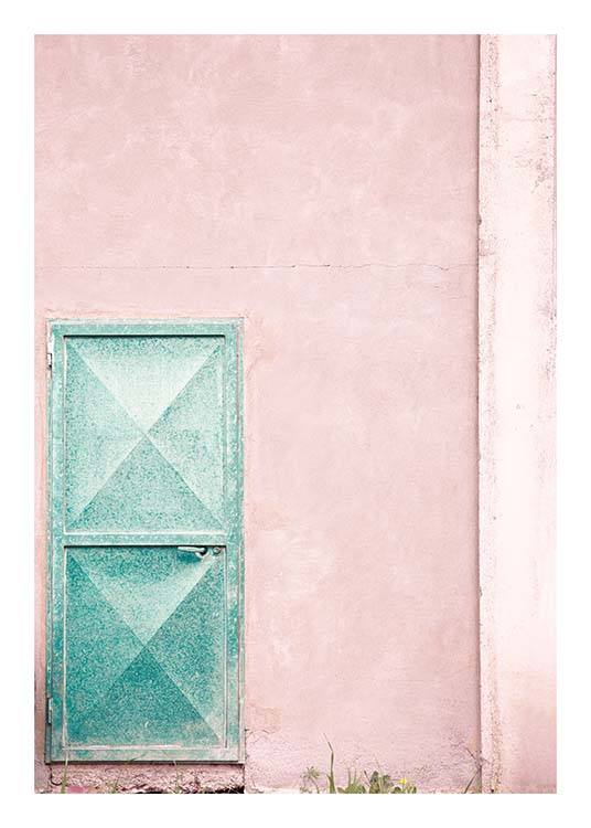 Mint Door Poster / Photography at Desenio AB (10044)