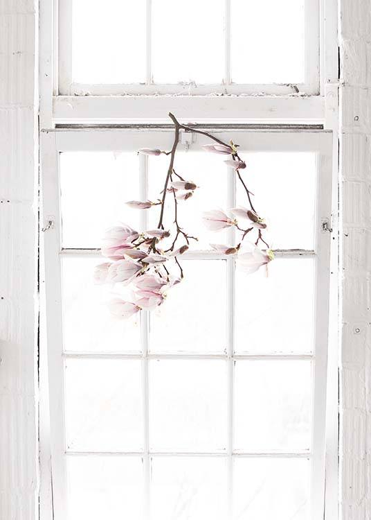 Flowers In The Window Poster / Photography at Desenio AB (10182)