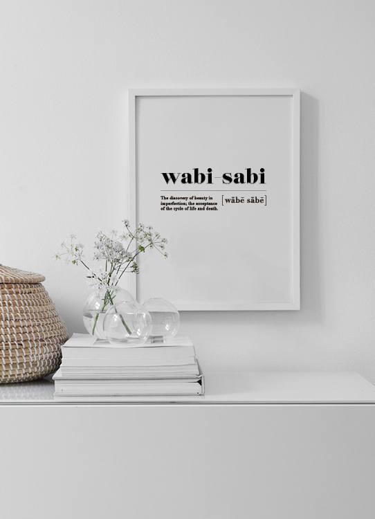 Wabi Sabi Poster