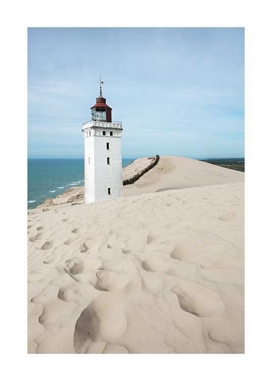 Rubjerg Knude Lighthouse Poster / Nature at Desenio AB (10752)