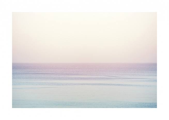 Pastel Horizon Poster / Nature at Desenio AB (10881)