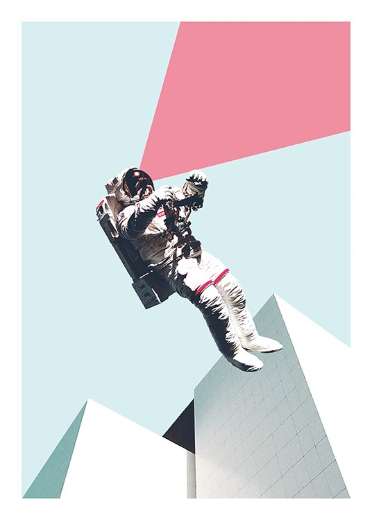 Out of This World Poster / Art prints at Desenio AB (11075)