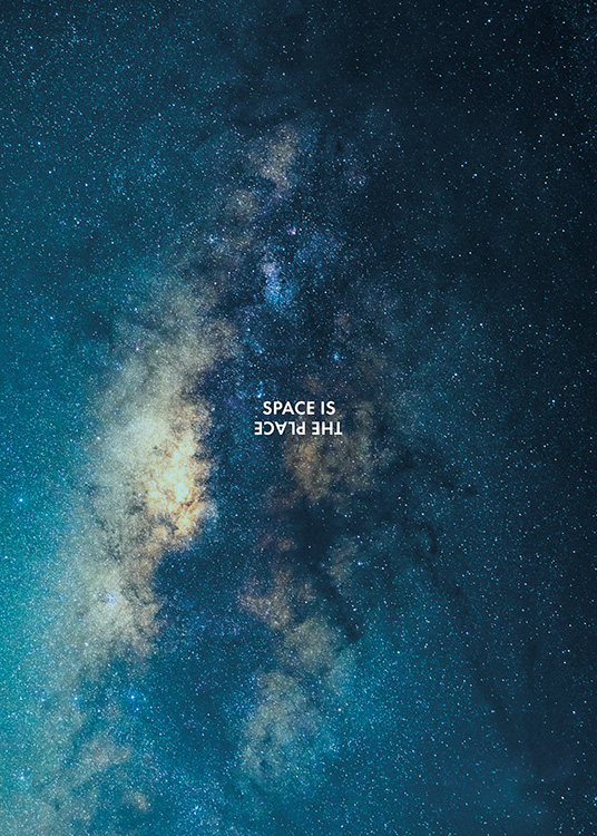 Space is the Place Poster / Nature at Desenio AB (11169)