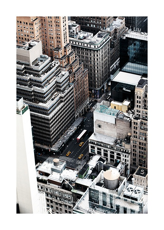 New York View Poster / Photography at Desenio AB (11324)