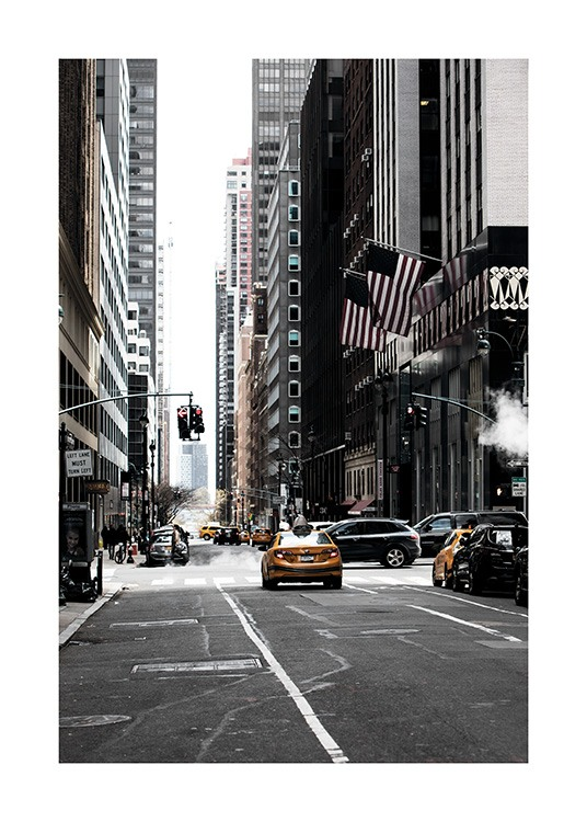 New York Street Poster / Photography at Desenio AB (11326)
